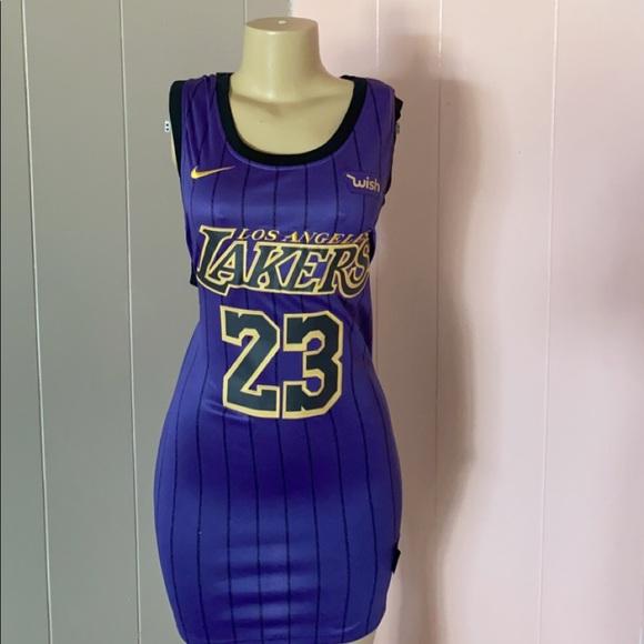 "New Custom Lakers Jersey Dress ""Lebron James"""